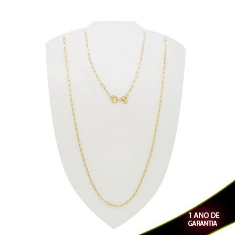 Imagem de Corrente Masculina Cartier Diamantada 2mm 50cm - 0400708