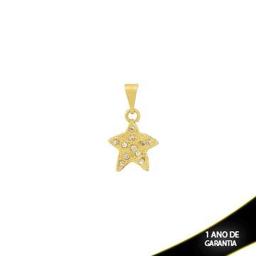 Imagem de Pingente Estrela Cravejado com Strass - 0303536