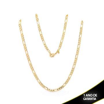 Imagem de Corrente Masculina 3x1 Diamantada 4mm 60cm - 0402557