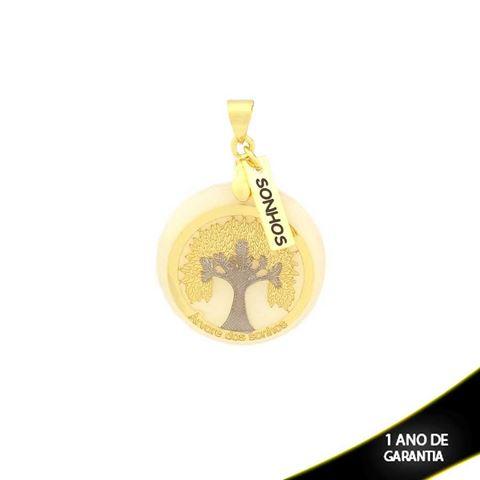 Imagem de Pingente com Réplica de Madrepérola Árvore dos Sonhos - 0303794