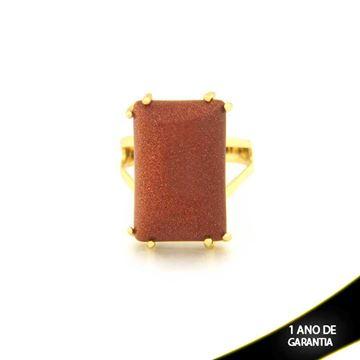 Imagem de Anel Pedra Natural cor Pedra do Sol - 0103756