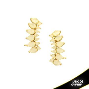 Imagem de Brinco Ear Cuff com Pedras Várias Cores - 0210004