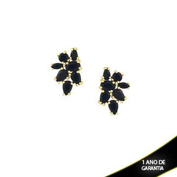 Imagem de Brinco com Pedras Várias Cores - 0210047