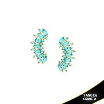 Imagem de Brinco Ear Cuff com Pedras Várias Cores - 0210052