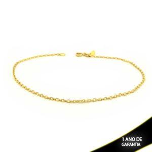 Imagem de Tornozeleira Diamantada Fina 1,5mm 26cm - 0600556