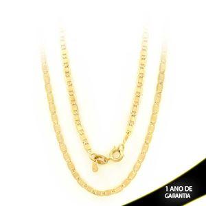 Imagem de Corrente Masculina Elos Lisos Diamantada 3mm 60cm - 0402829
