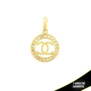 Imagem de Pingente Chanel com Zirconias em Volta - 0304028