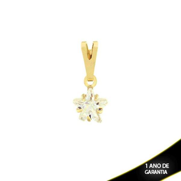 Imagem de Pingente Estrela com Pedra de Zircônia - 0304024