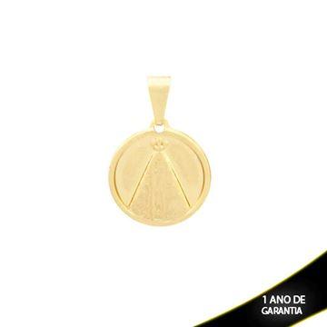 Imagem de Pingente Medalha com Nossa Senhora Aparecida - 0304031