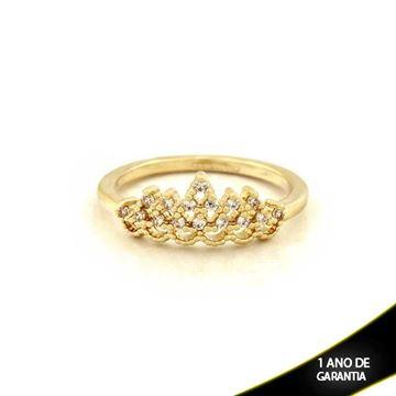 Imagem de Anel Coroa com Zircônias - 0104461