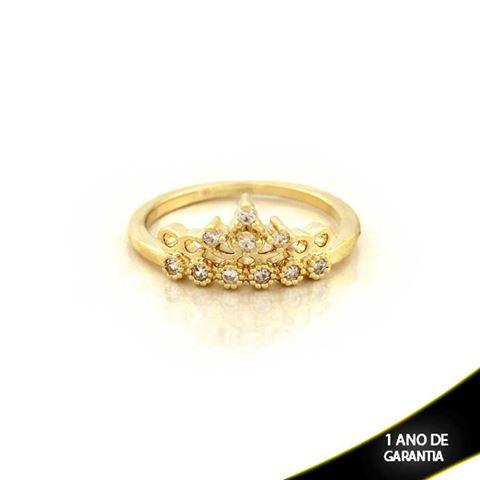 Imagem de Anel Coroa com Zircônias - 0104493