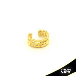 Imagem de Brinco Piercing De Pressão Para Cartilagem Trabalhada - 0304043