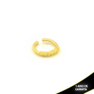 Imagem de Brinco Piercing De Pressão Para Cartilagem Lisa e Trabalhada - 0304046