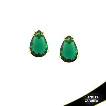 Imagem de Brinco com Pedra Natural em Gota Várias Cores - 0210411