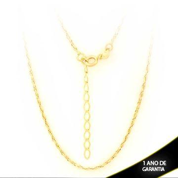 Imagem de Corrente Feminina Diamantada 1,5mm 40cm Mais 5cm de Extensor - 0403032