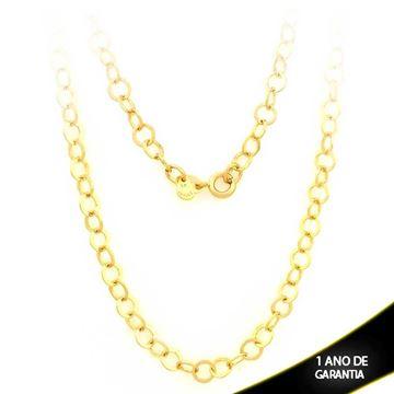 Imagem de Corrente Masculina Elos Diamantados 5mm 45cm - 0403075