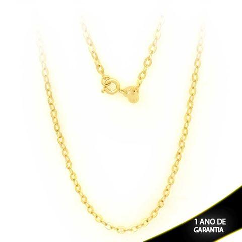 Imagem de Corrente Masculina Diamantada 3mm 45cm - 0403080