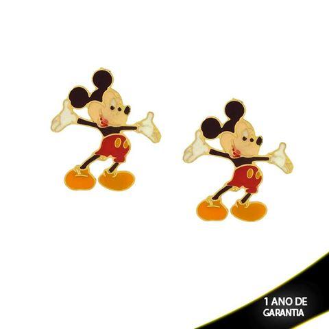Imagem de Brinco Mickey com Resina - 0210656