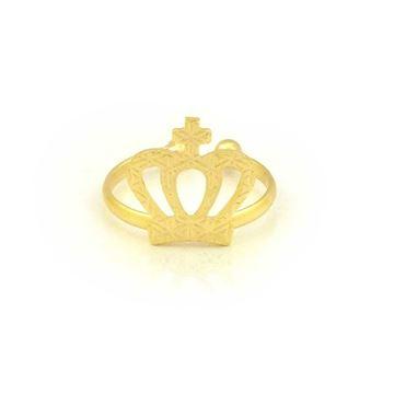 Imagem de Anel Falange e Infantil Coroa Regulável - 0104553
