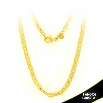Imagem de Corrente Masculina Importada Diamantada 4mm 50cm - 0402668
