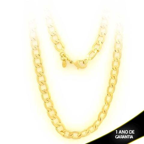 Imagem de Corrente Masculina Diamantada 6mm 70cm - 0403229