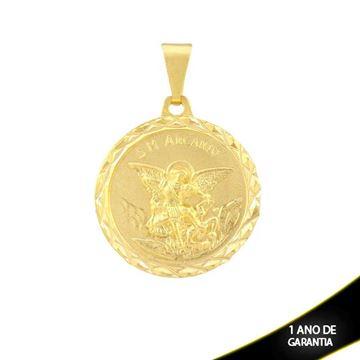 Imagem de  Pingente Medalha São Miguel Arcanjo (Guardião) - 0304219