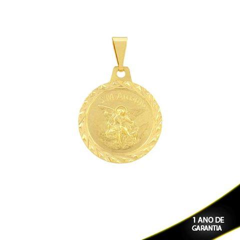Imagem de Pingente Medalhinha São Miguel Arcanjo (Guardião) - 0304222