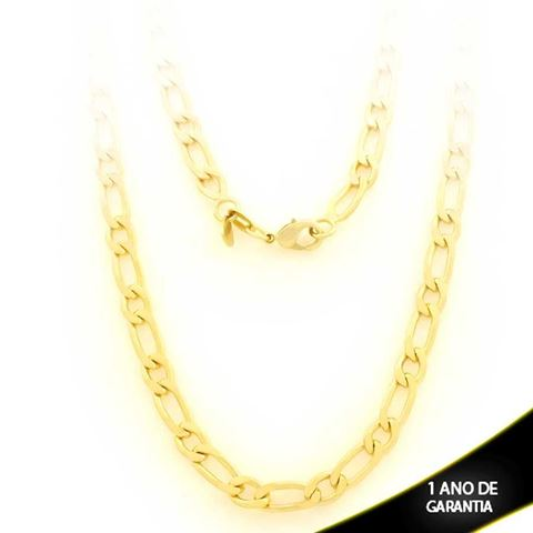 Imagem de Corrente Masculina Diamantada 1x1 6mm 70cm - 0403286