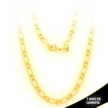 Imagem de Corrente Masculina Diamantada 1x1 4mm 60cm - 0403278