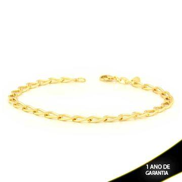 Imagem de Pulseira Masculina Diamantada 5mm 21cm - 0503590