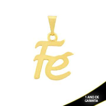 """Imagem de Pingente Escrito """"Fé"""" - 0304230"""
