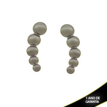 Imagem de Brinco Ear Cuff Liso em Banho Negro - 0211436