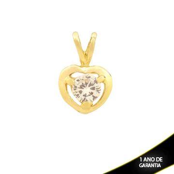 Imagem de Pingente Coração com Pedra de Zircônia - 0304153