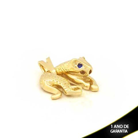 Imagem de Pingente Tigre com Pedra Branca ou Azul - 0304013