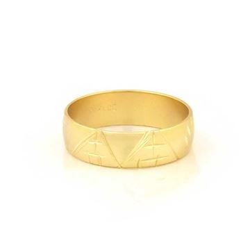Imagem de Anel Aliança Escrava com Detalhes Diamantados - 0103820