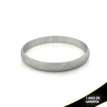 Imagem de Pulseira Bracelete Alumínio Fino Fosco 9mm - 0500114