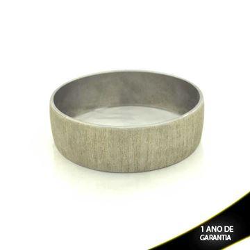 Imagem de Pulseira Bracelete Alumínio Chapiscado 20mm - 0501257