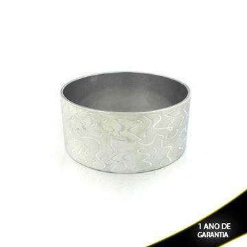 Imagem de Pulseira Bracelete Alumínio Diamantado 32mm - 0500105