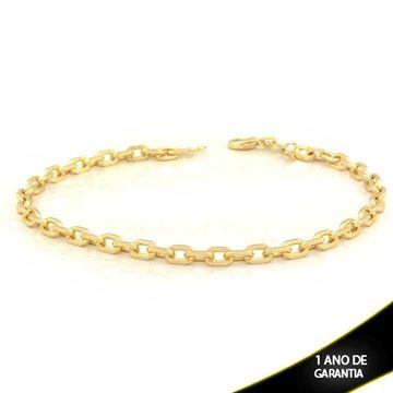 Imagem de Pulseira Masculina Cartier Diamantada 4mm 22cm - 0503714