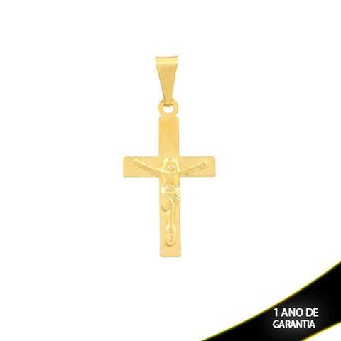 Imagem de Pingente Cruz Pequena com Cristo - 0303191