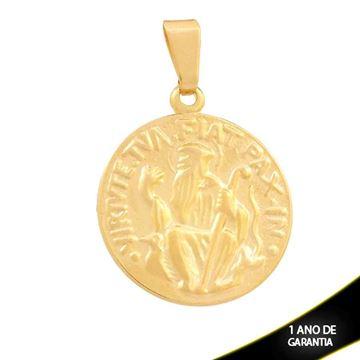 Imagem de Pingente Medalha São Bento - 0300677