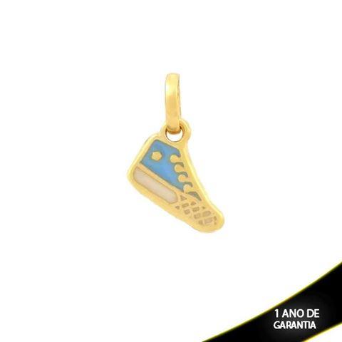 Imagem de Pingente Tênis com Resina Azul - 0304339