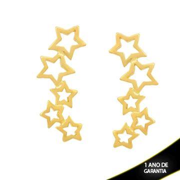 Imagem de Brinco Ear Cuff Estrelas Vazadas - 0211793