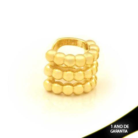 Imagem de Brinco Piercing de Pressão com Bolinhas - 0211814