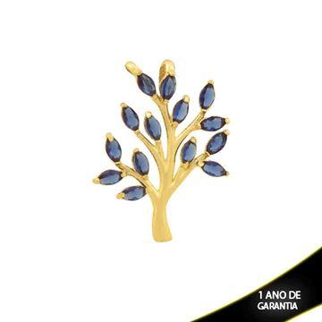 Imagem de Pingente Árvore com Zircônias Azul - 0304411