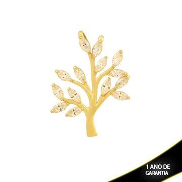 Imagem de Pingente Árvore com Zircônias Branco - 0304411