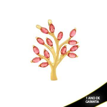 Imagem de Pingente Árvore com Zircônias Pink - 0304411