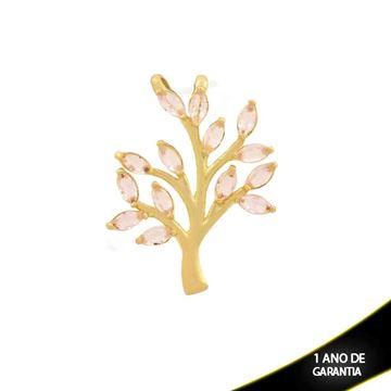 Imagem de Pingente Árvore com Zircônias Rosa - 0304411