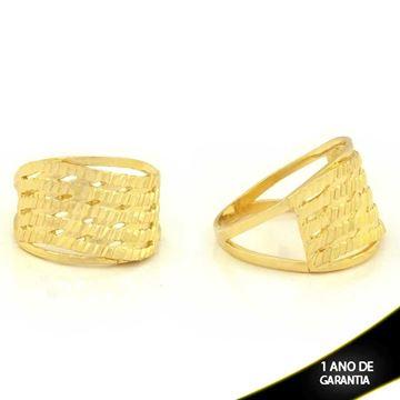 Imagem de Anel Vazado e Diamantado - 0104771