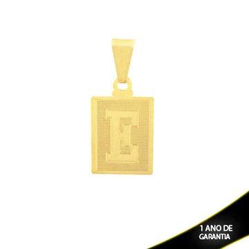 """Imagem de Pingente Placa com Letra """"E"""" - 0301699"""